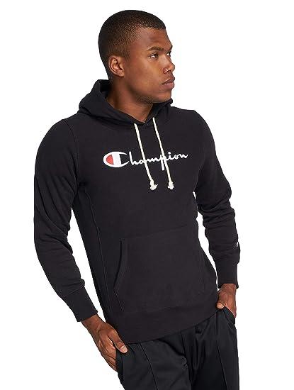 6be479dad5ac Champion Men Hoodies Classic Black 2XL  Amazon.co.uk  Clothing
