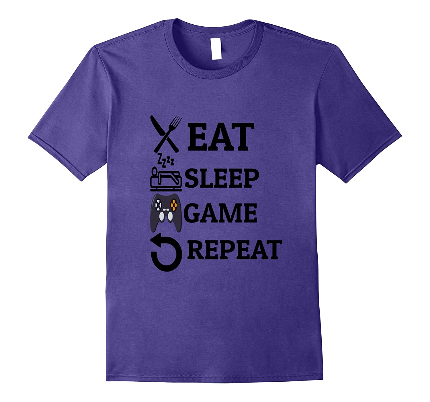 Eat Sleep Game Repeat For Video Game Lovers-FL