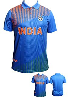 31ac78eba Slyk Team India Cricket Supporter Jersey T-Shirt for Kids to Adult - Unisex