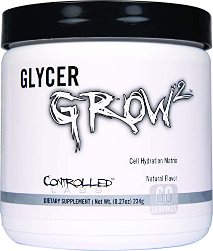 Controlled Labs Glycergrow 2 60 Servinging, 8.277 Ounces