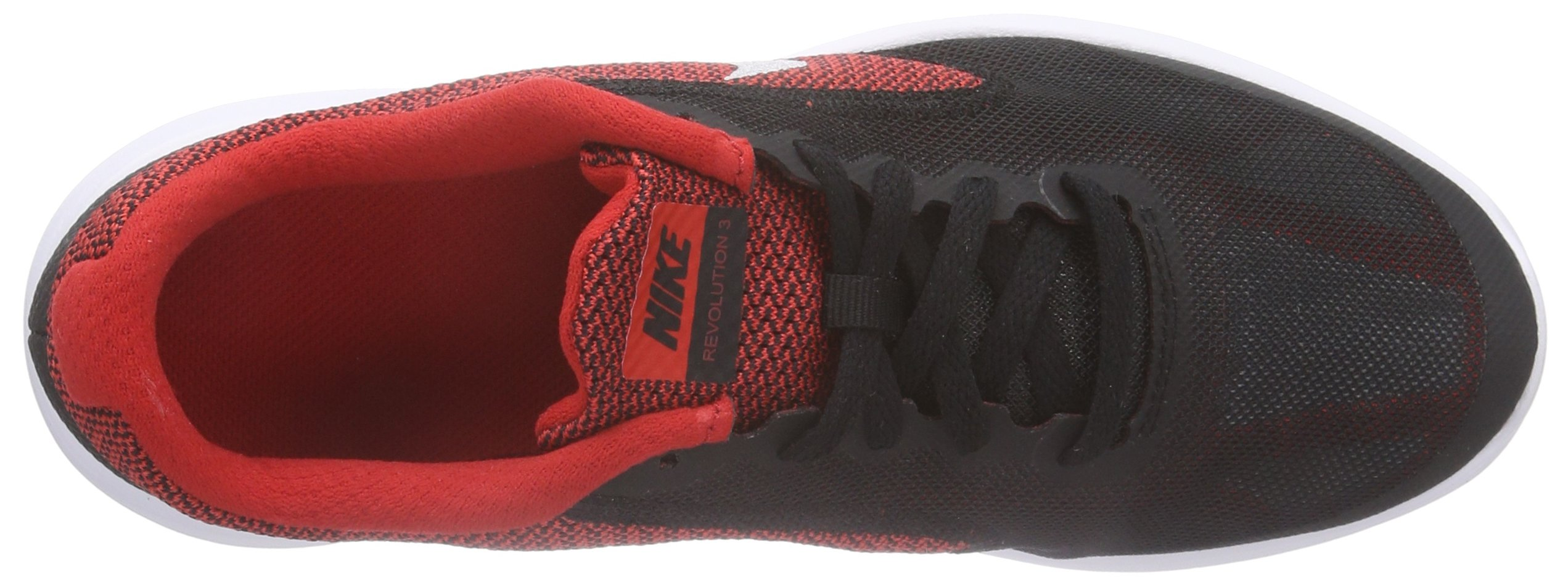 NIKE Boys' Revolution 3 Running Shoe (GS), University Red/Metallic Silver/Black, 4 M US Big Kid by Nike (Image #7)