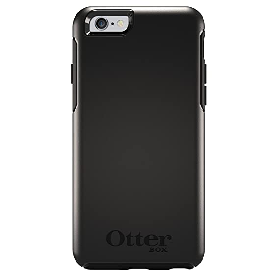sports shoes 1c503 848e1 OtterBox 77-52290 Symmetry Series Case for iPhone 6/6s - Black