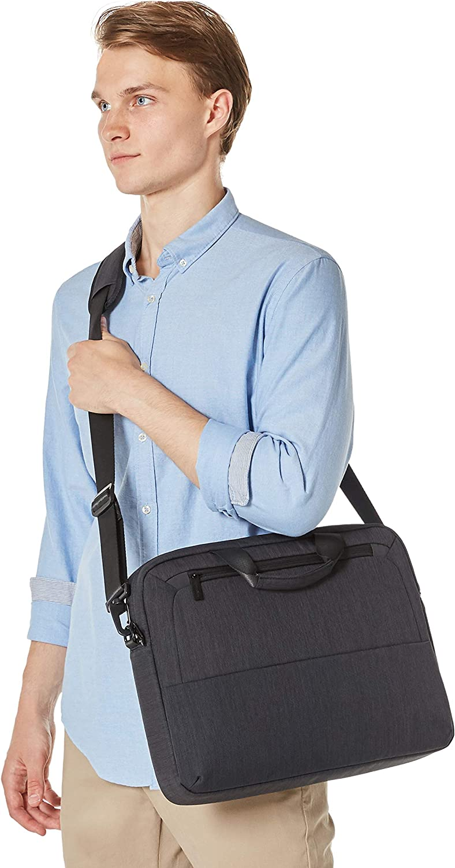 schwarz f/ür Laptops bis 39,62 cm Basics Professionelle Laptop-Tasche