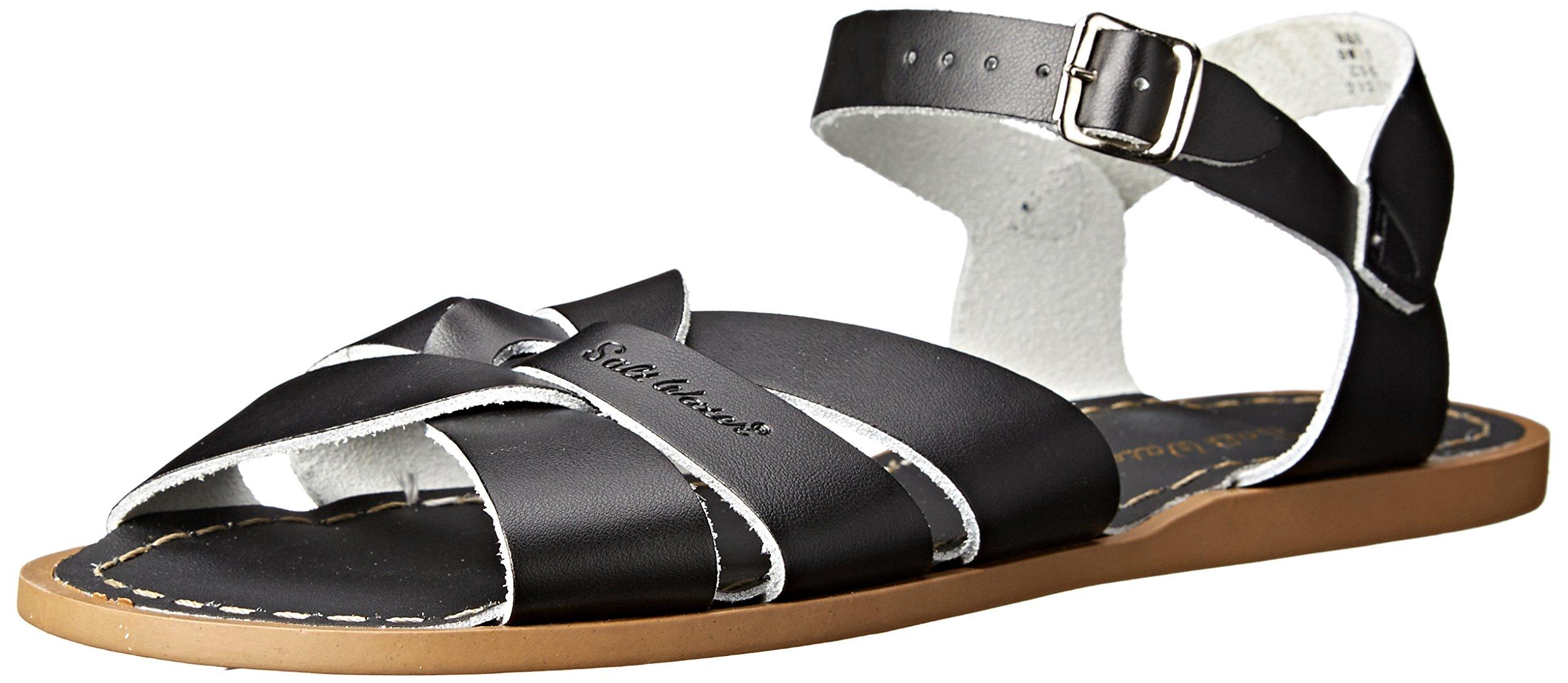 Salt Water Sandals by Hoy Shoe Original Sandal (Toddler/Little Kid/Big Kid/Women's), Black, 6 M US Big Kid