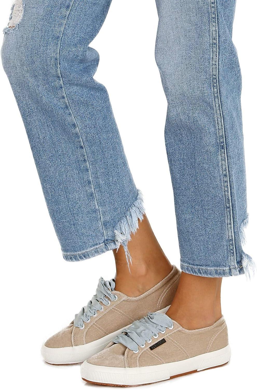 Superga 2750 Velvet Sneaker Grey Multi