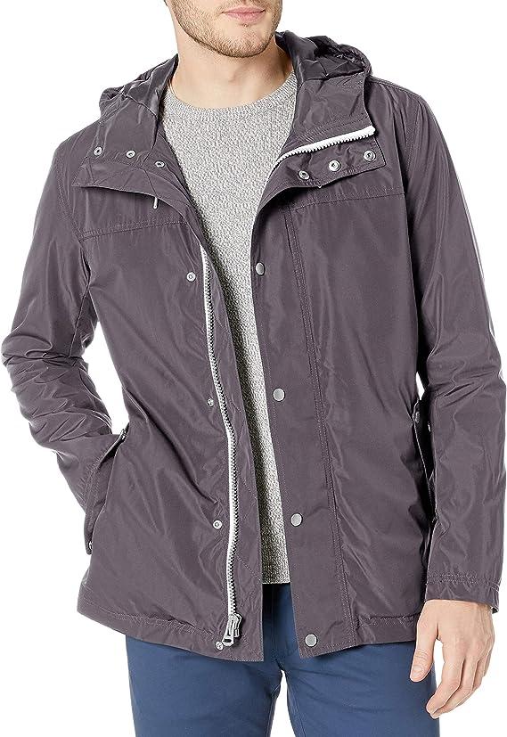 Cole Haan Signature 可汗 男式连帽雨衣夹克 S码2折$59.97 海淘转运到手约¥429
