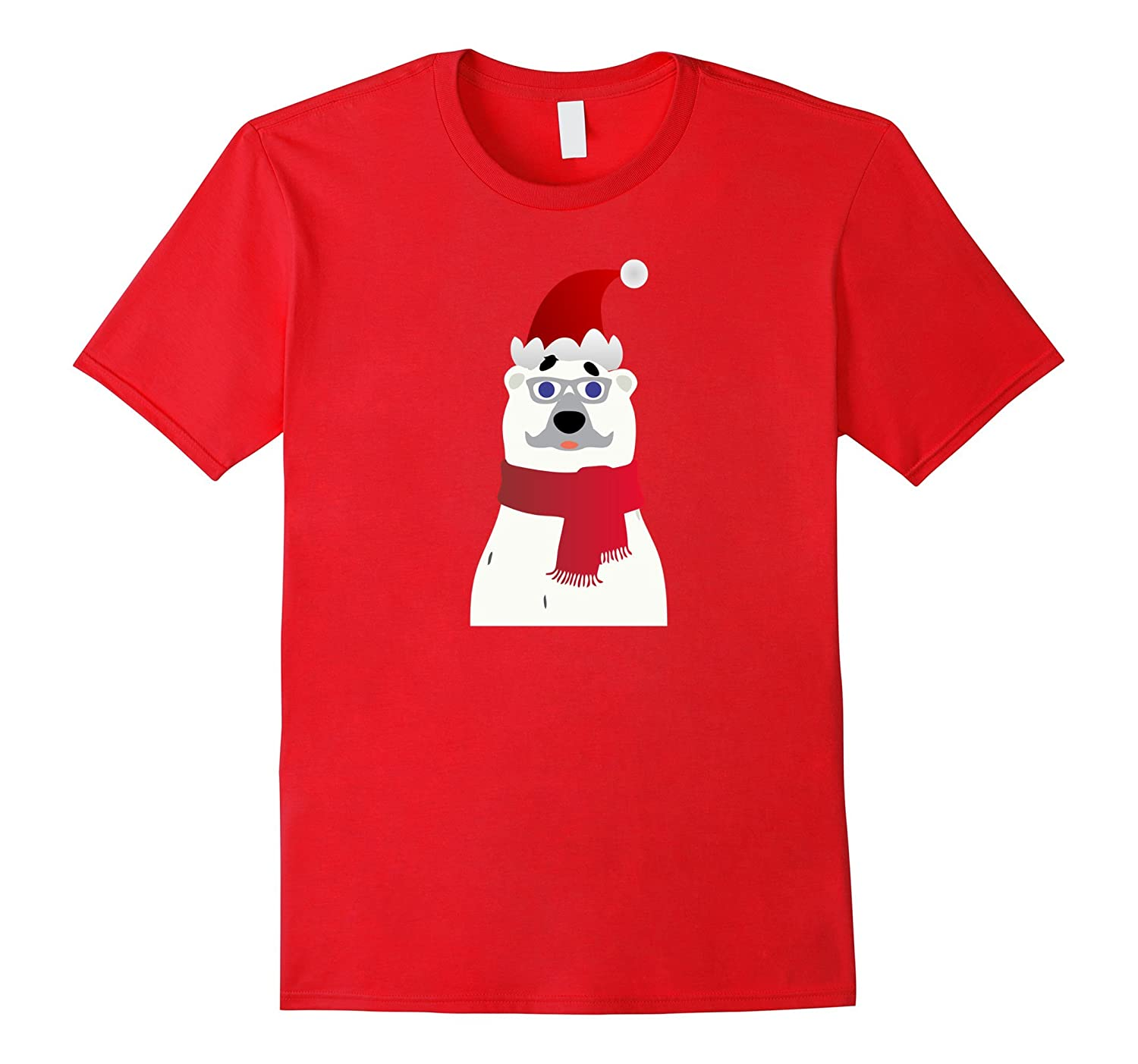 Polar Bear Holiday Christmas Shirt for Men for Women for Kid-Vaci