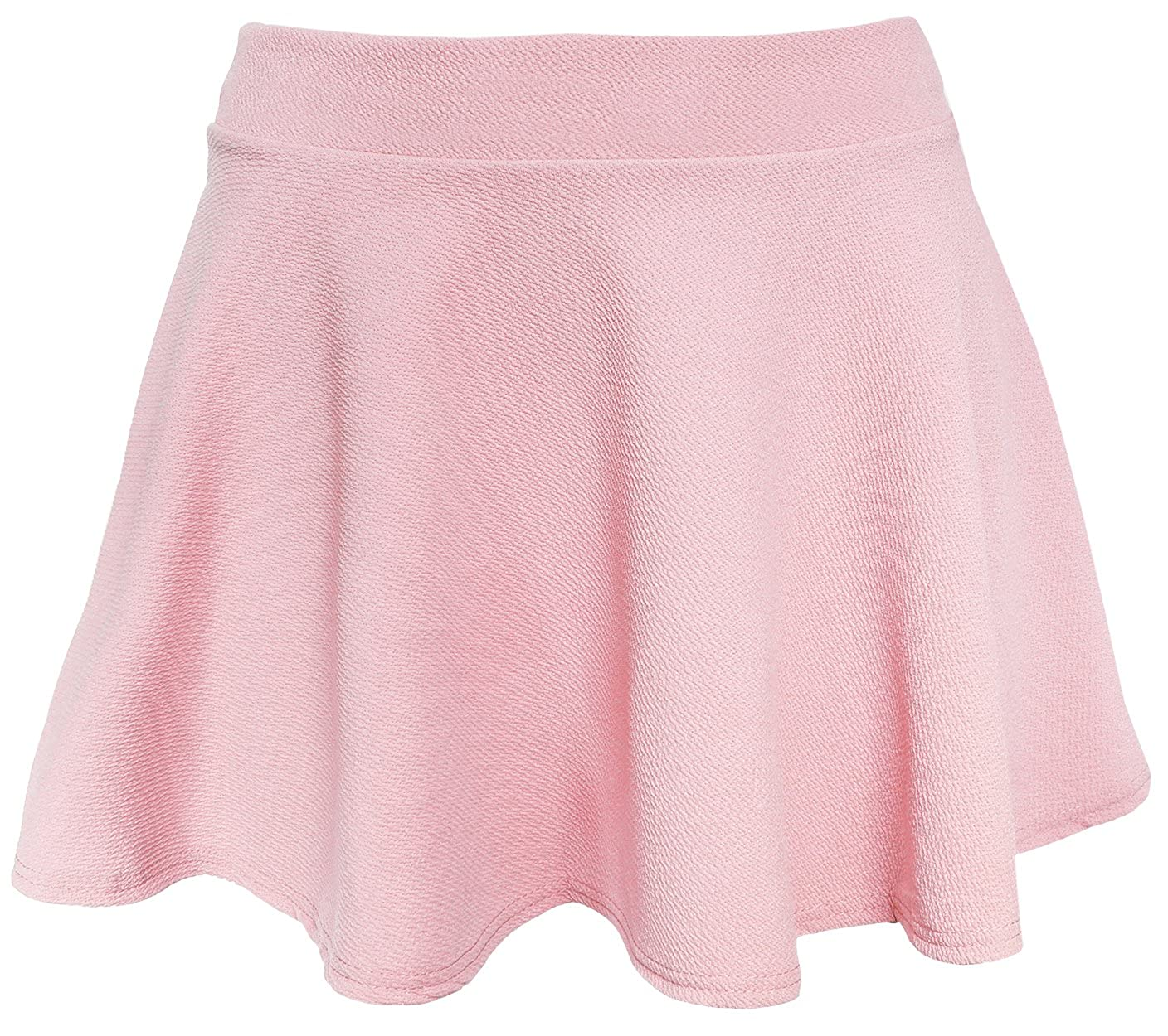 KMystic Womens Textured Flared Skater Skirt