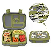 Bentgo Kids' Prints 5-Compartment Bento-Style Kids Lunch Box in several styles