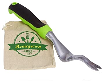 Hand Weeder From Homegrown Garden Tools; Manual Weed Remover With Large  Ergonomic Handle; Best