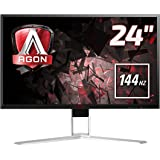 AOC AG241QX 24-Inch AGON Series Gaming Monitor, 1 ms Response Time, VGA, HDMI, Display Port, DVI-D, 4 x USB Ports