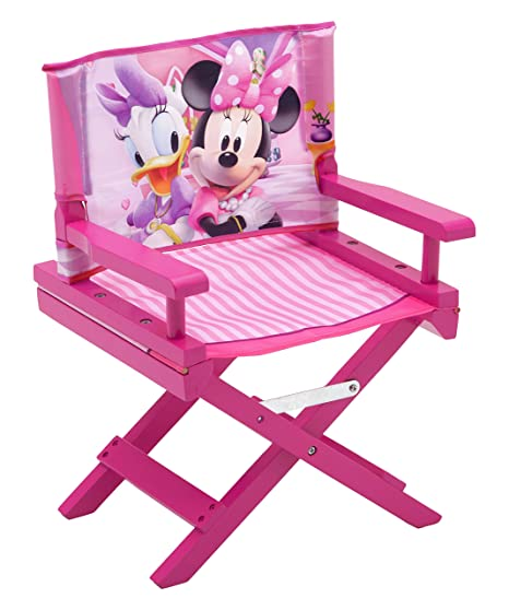 Delta Children Minnie Director - Silla infantil madera, unisex