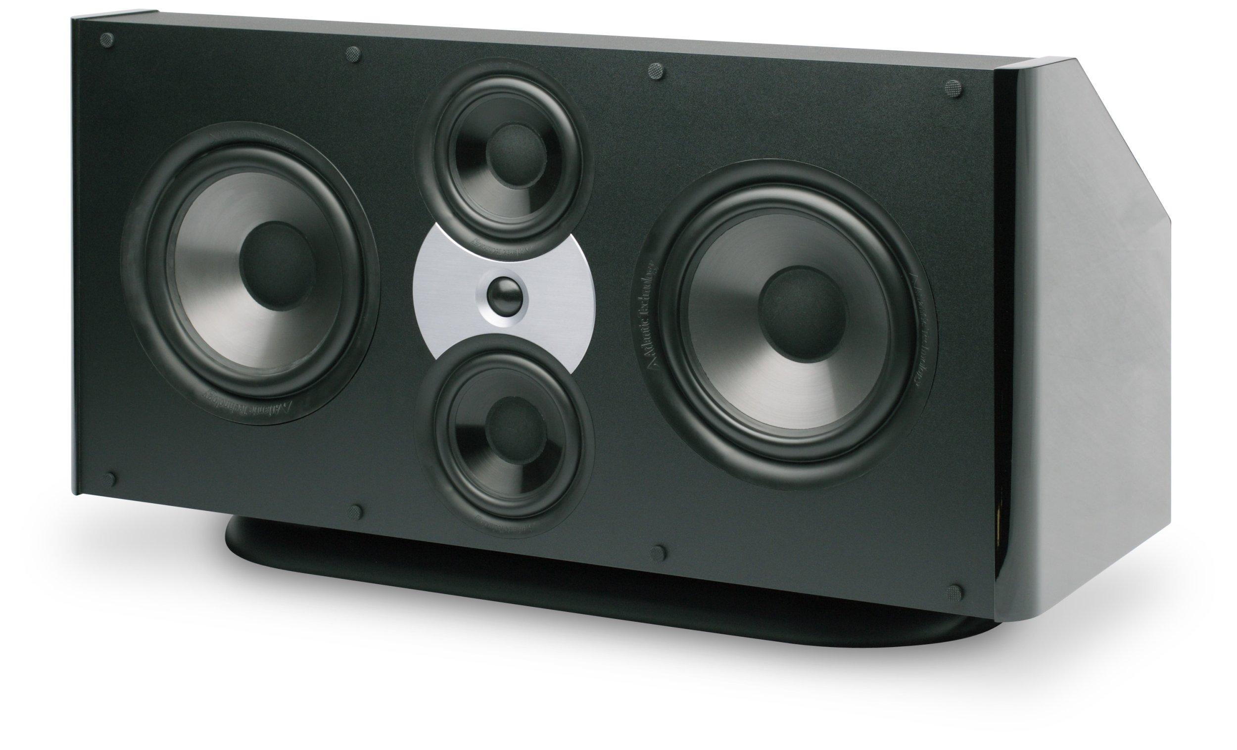 Atlantic Technology 8200eC-GLB THX Ultra2 Center Channel Speaker (Single, Gloss Black) by Atlantic Technology