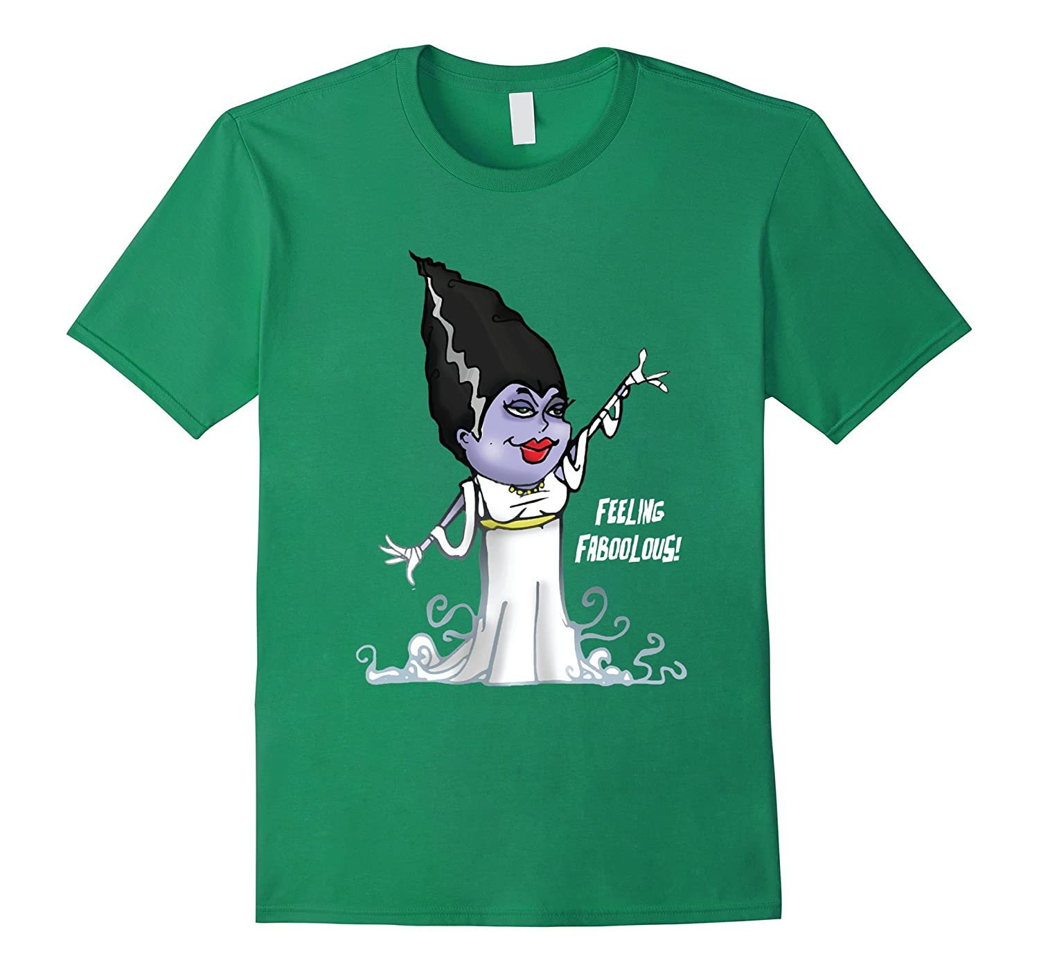 Funny Halloween T-Shirt with a scary Witch and an evil grin-T-Shirt
