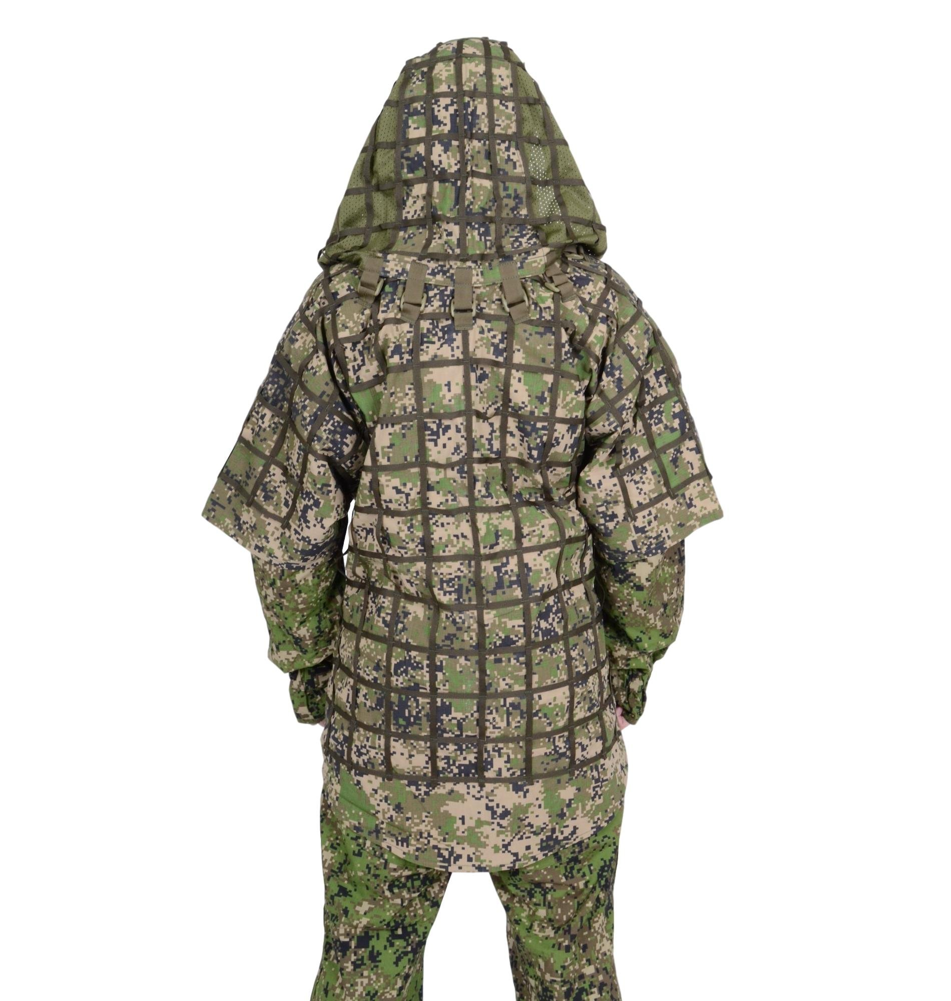Ghillie Suit ''Ghost'' by SPOSN / SSO   Russian Sniper Coats / Viper Hoods (Spectre SKWO)