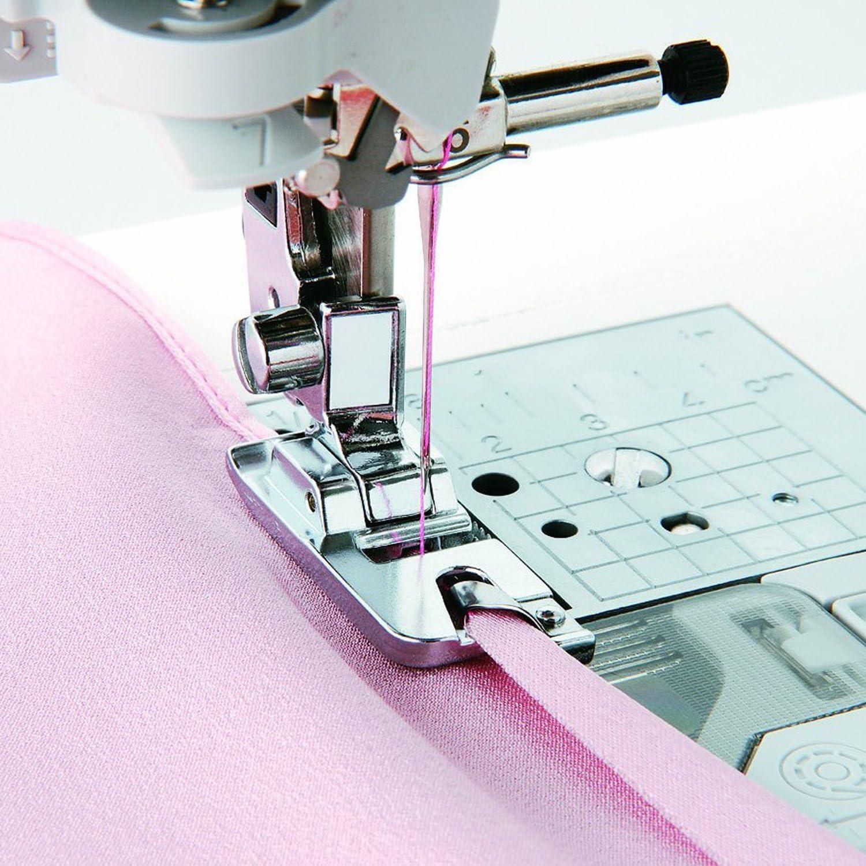 Distintivo estrecha dobladillo prensatelas para máquina de coser ...