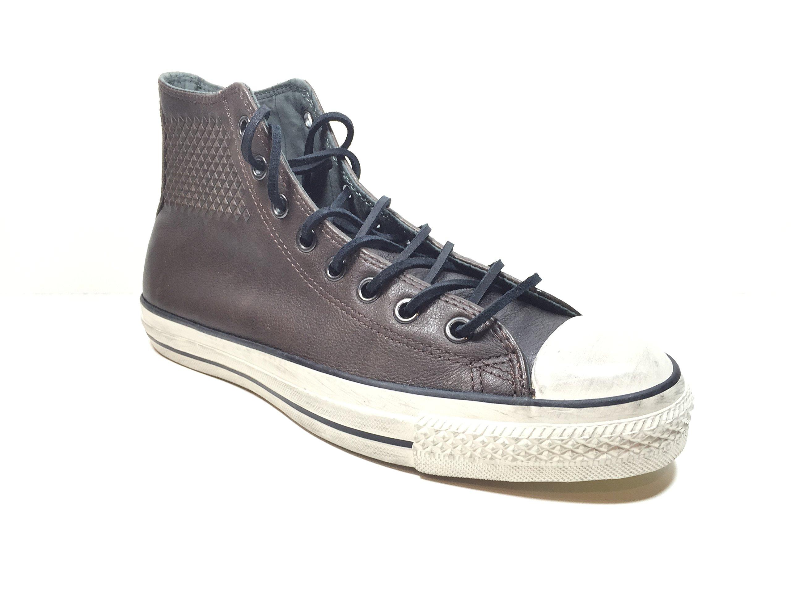 5014ec3721ad Converse by John Varvatos Men s Ct Embossed Stud Leather Sneaker Brown
