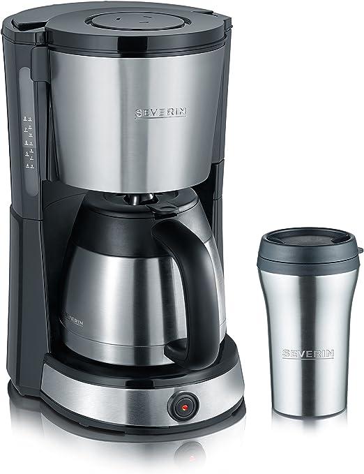 SEVERIN KA 9475 Cafetera Select para filtros de Café Molido, 8 ...