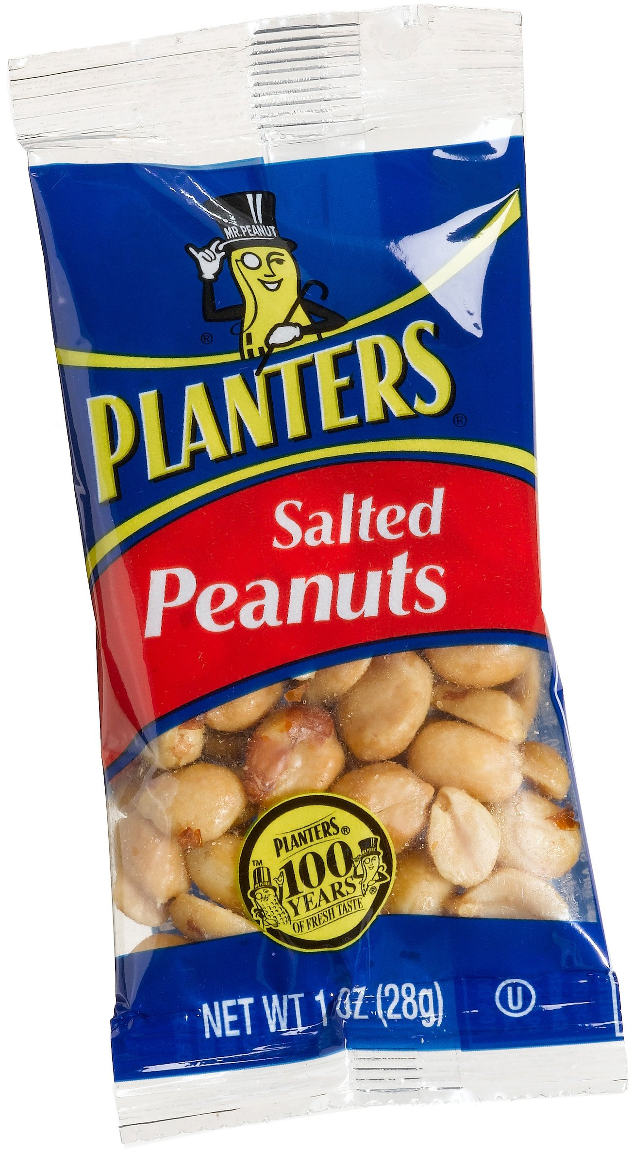 Planters Single Serve Salted Peanuts (1 oz Bags, Pack of 144) by Planters (Image #2)