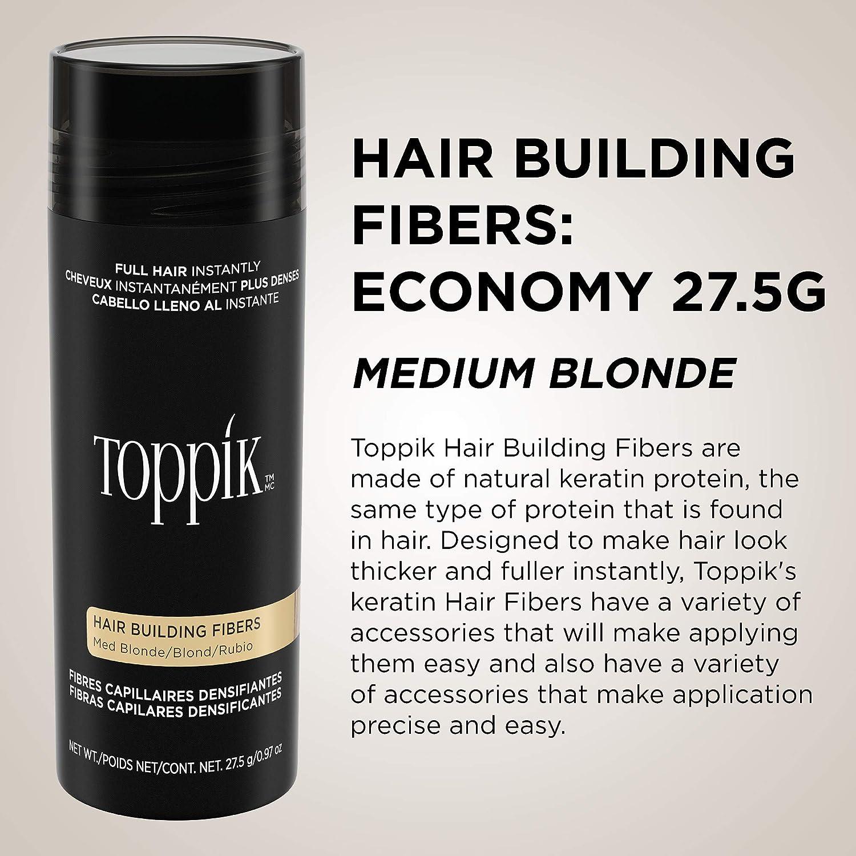 Amazon.com: Toppik - Fibras para el pelo 27.5: Luxury Beauty