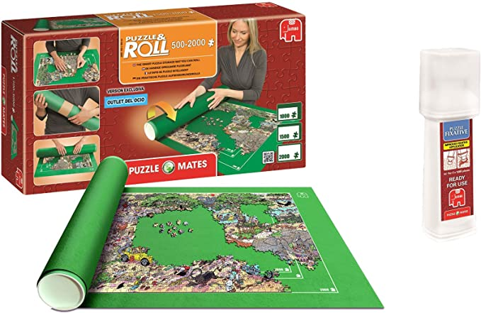 Outletdelocio. Pack Puzzle Roll 2000. Tapete Universal para ...
