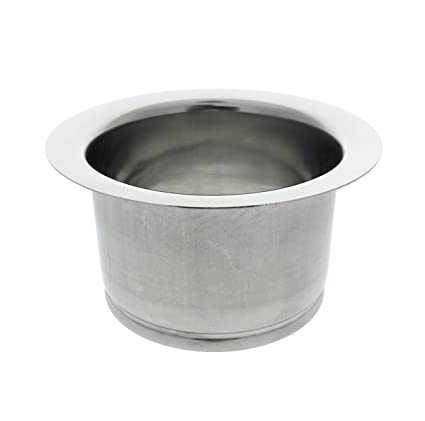 Beau Kitchen Extended Sink Flange, Deep Polished Stainless Steel Flange For  Insinkerator Garbage Disposals And Other