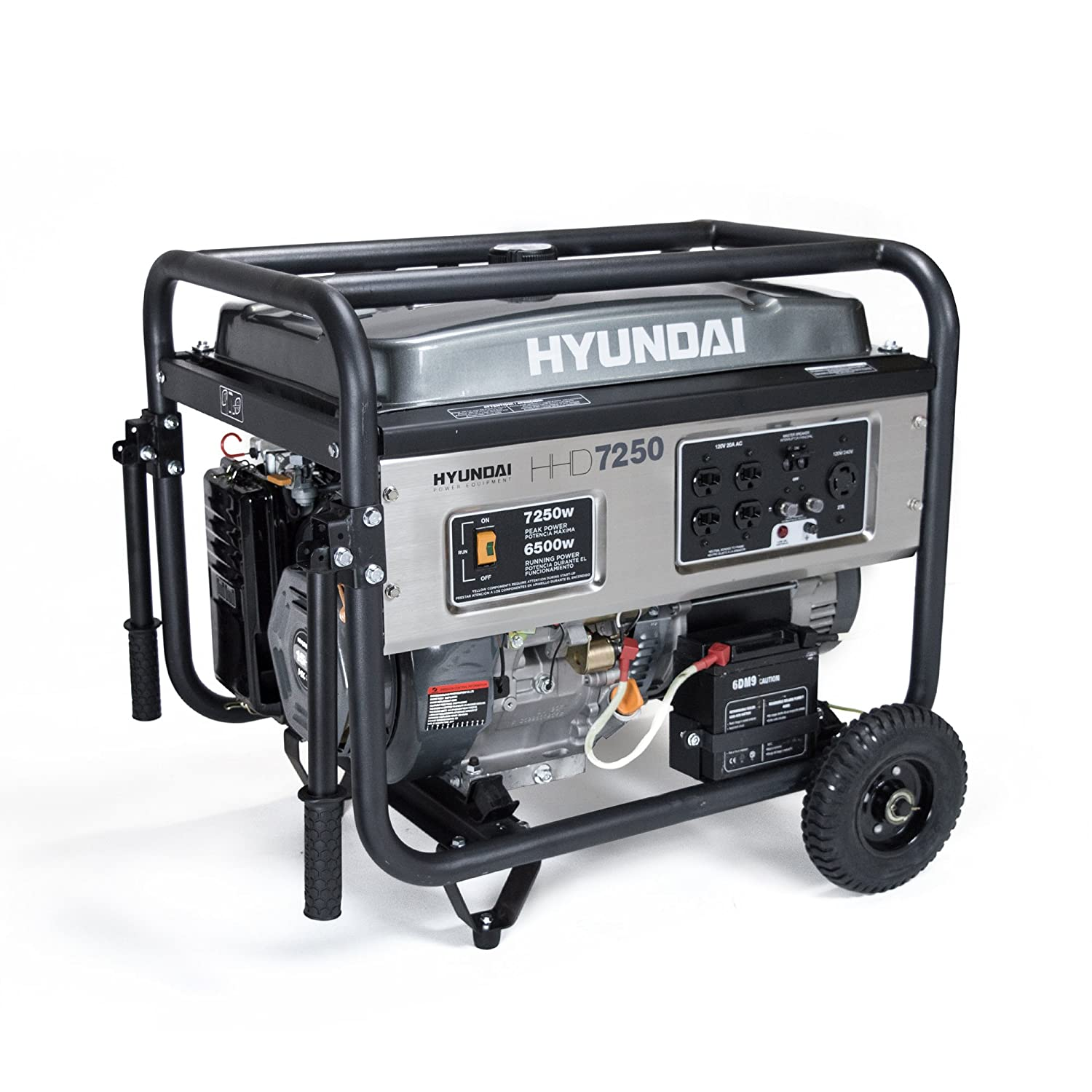 Hyundai GEN HHD7250 with Electric Start Heavy Duity Power