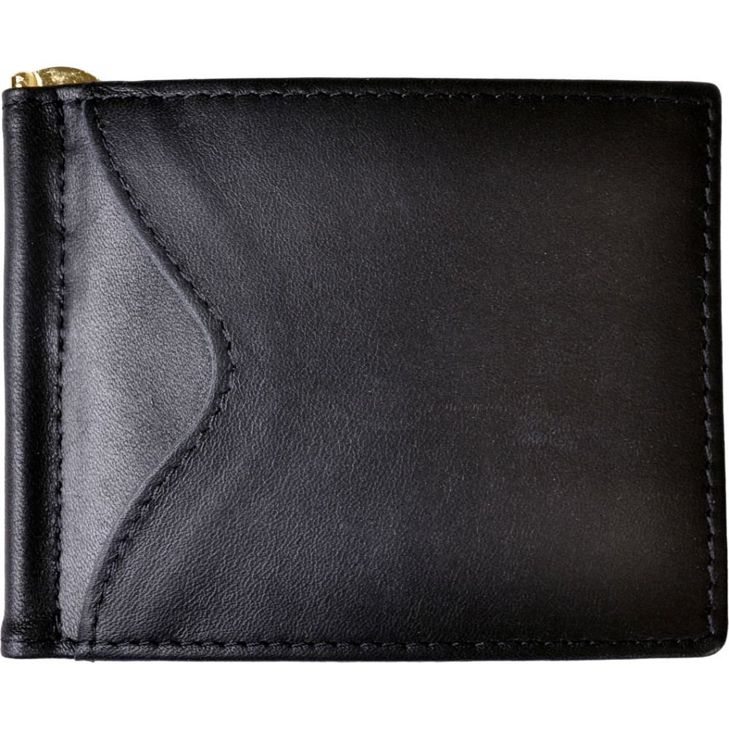 Royce Leather RFID Blocking Money Clip Credit Card Wallet in Leather, Black by Royce Leather