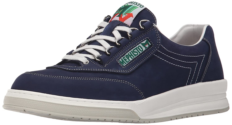 Mephisto Men's Match Walking Shoe B01189L58M 10.5 D(M) US Navy Nubuck