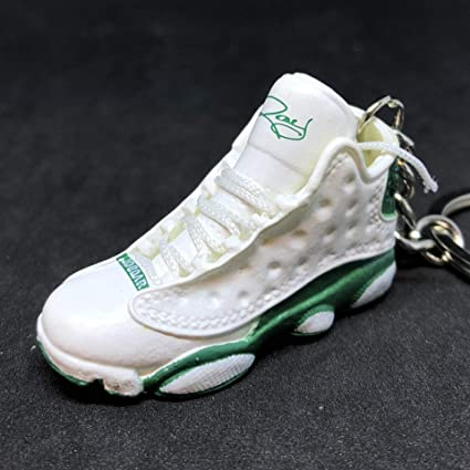 newest 8560a 4e458 Amazon.com : Air Jordan XIII 13 Retro Sugar Ray Pe Green OG ...