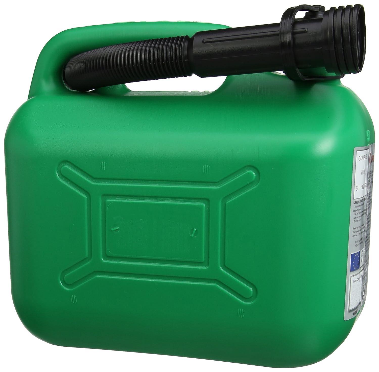 Cosmos - Tanica in latta per carburante, 5 l, colore: Verde 03105A