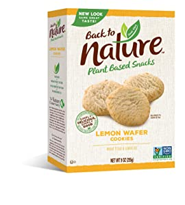 Back to Nature Cookies, Non-GMO California Lemon, 9 Ounce (Packaging May Vary)