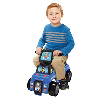 Paw Patrol Chase Push n' Scoot Ride-on: Toys & Games