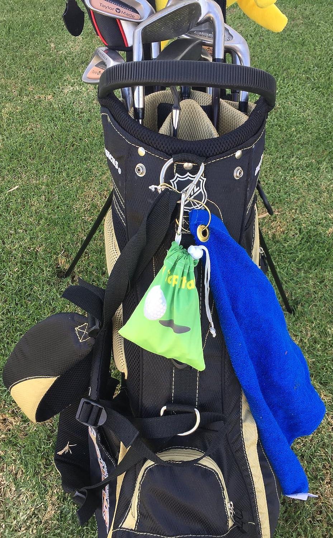 Amazon.com: Giggle Golf – microfibra I d Tap That Tee bolsa ...