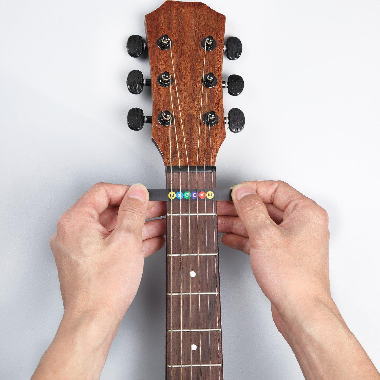 Adhesivos de Nota de Diapasón de Guitarra Pegatina del Mapa de Trastes de Diapasón Multicolor (2 paquetes) oferta por Afuaim: Amazon.es: Instrumentos ...