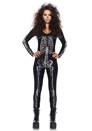 Amazon.com  Leg Avenue Women s X-ray Skeleton Catsuit Costume  Clothing d1bacc76d