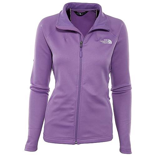 f20e4bab1273 The North Face Women s Momentum Full Zip Fleece Bellflower Purple S