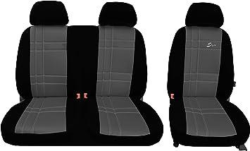 Pokter Alc T5 Transporter Maßgefertigte Sitzbezüge S Type Grau Auto