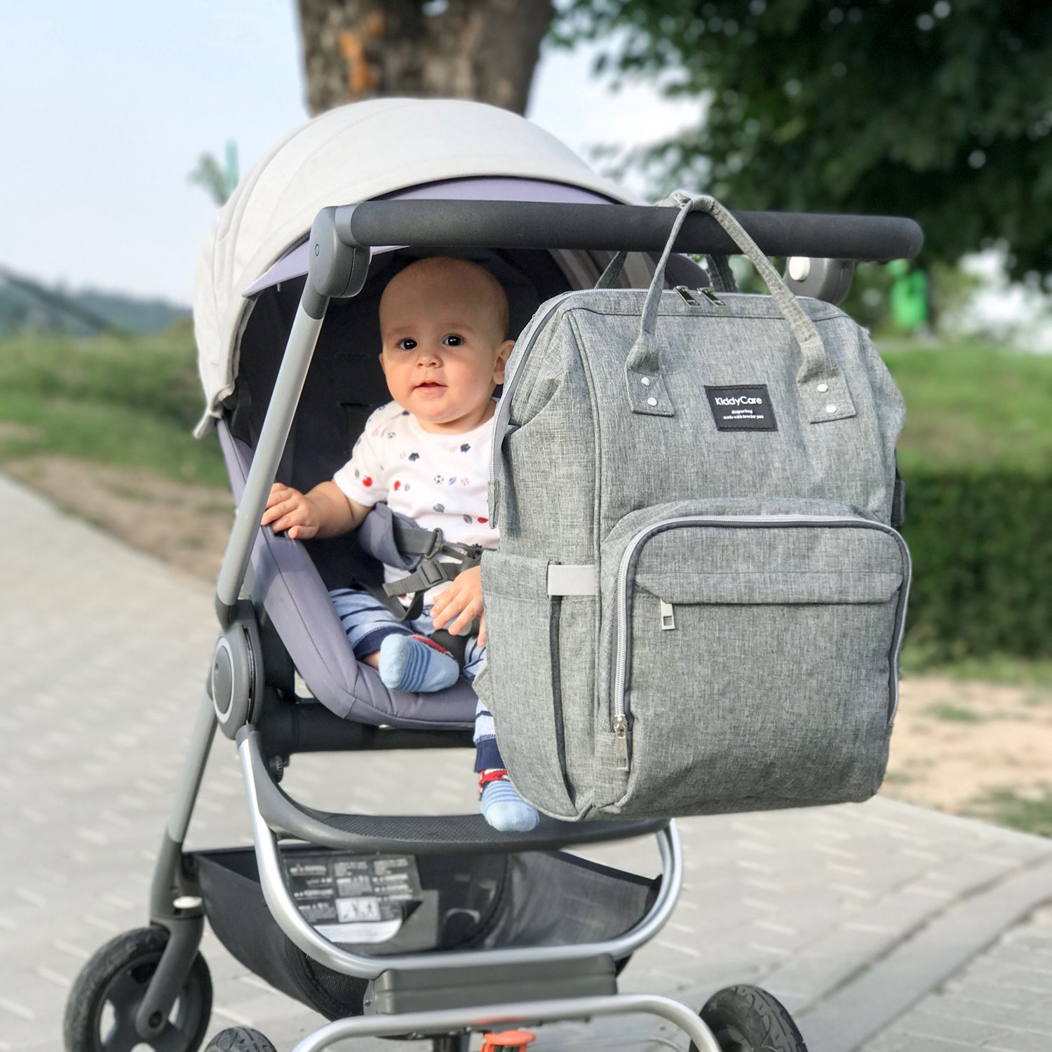 1af814a270a9a KiddyCare Diaper Bag Backpack - Multi-Function Waterproof Maternity Nappy  Bags for Travel with Baby - Large Capacity