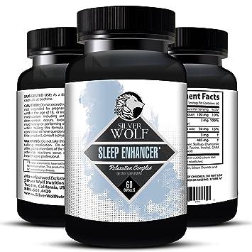 Melatonin Enhanced Herbal Sleep Supplement 100% Natural with Magnesium, Valerian, Hops, Skullcap
