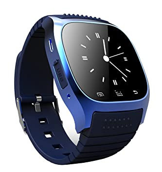 Amazon.com: Demetory M26S Bluetooth Smart Wrist Watch Phone For IOS Android iPhone (Black): Cell Phones & Accessories