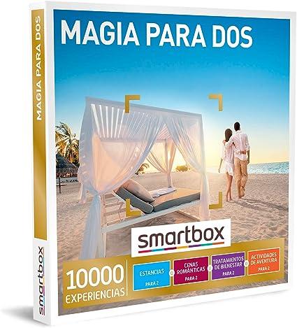 SMARTBOX - Caja Regalo - Magia para Dos - Idea de Regalo - 1 Experiencia de Estancia, gastronomía, Bienestar o Aventura para 2 Personas: Amazon.es: Deportes y aire libre