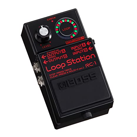 Boss RC-1 BK Loop Station · Pedal guitarra eléctrica