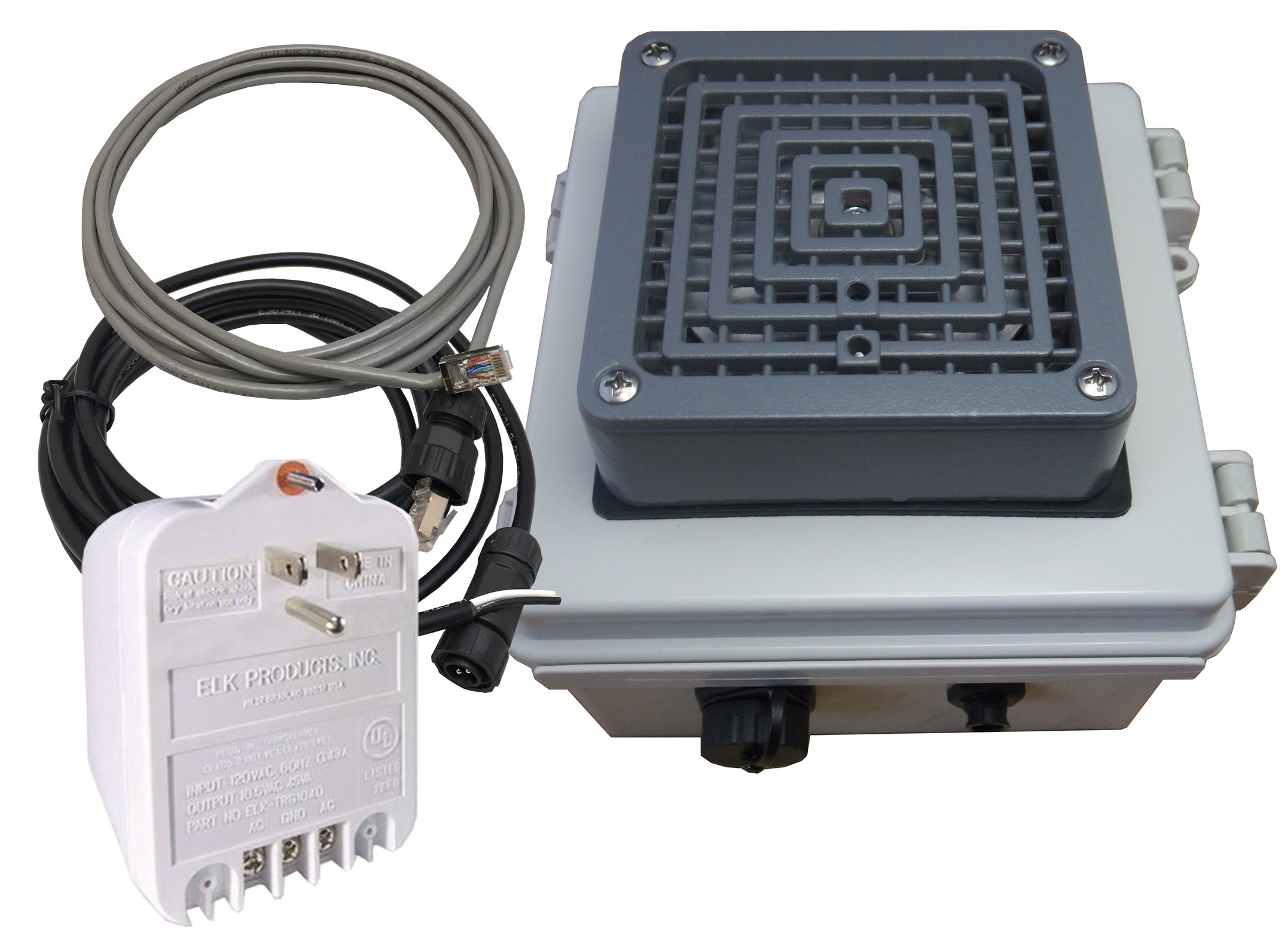Linortek Netbell-KB Web-Based Self-Contained Break Buzzer System for Industrial Working Areas up to 25,000 sq. ft.