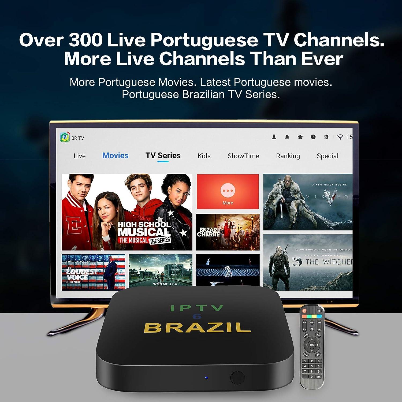 CHENKIYA IPTV6 Brazil HTV 2020 2020 Brazilian Android Box 3nd Version Better Than IPTV5 6 8 Over 300 Portuguese Channels/…IPTV6 Brazil