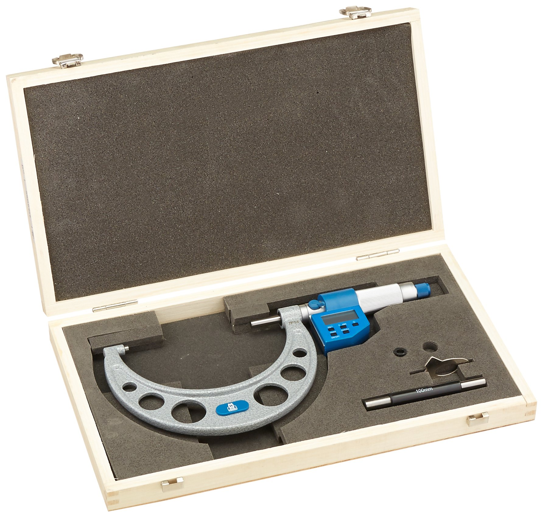 100-125mm (4-5inch) Moore and Wright Digital Micrometer MW210-01DDL