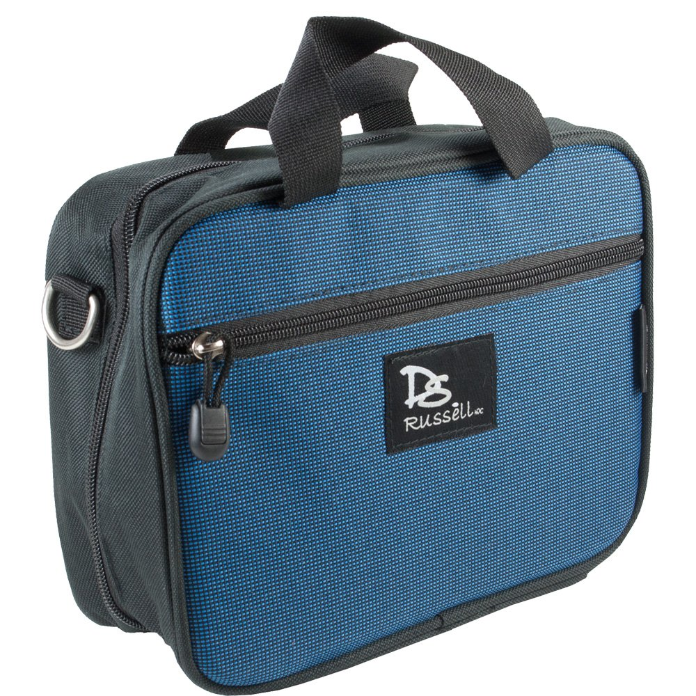 Dr.Russell Journeyer Diabetic Bag, Coral Blue