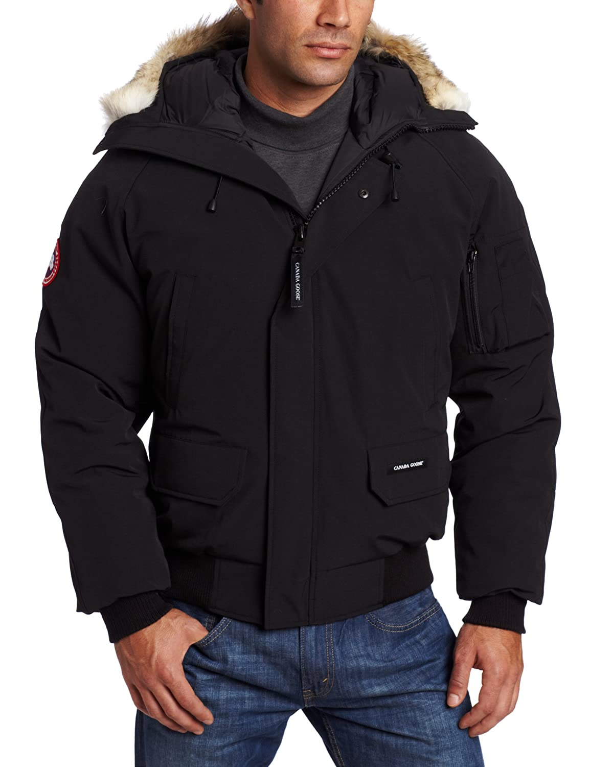 Canada Goose vest replica fake - Amazon.com: Canada Goose Men's Chilliwack Front-Zip Jacket with ...