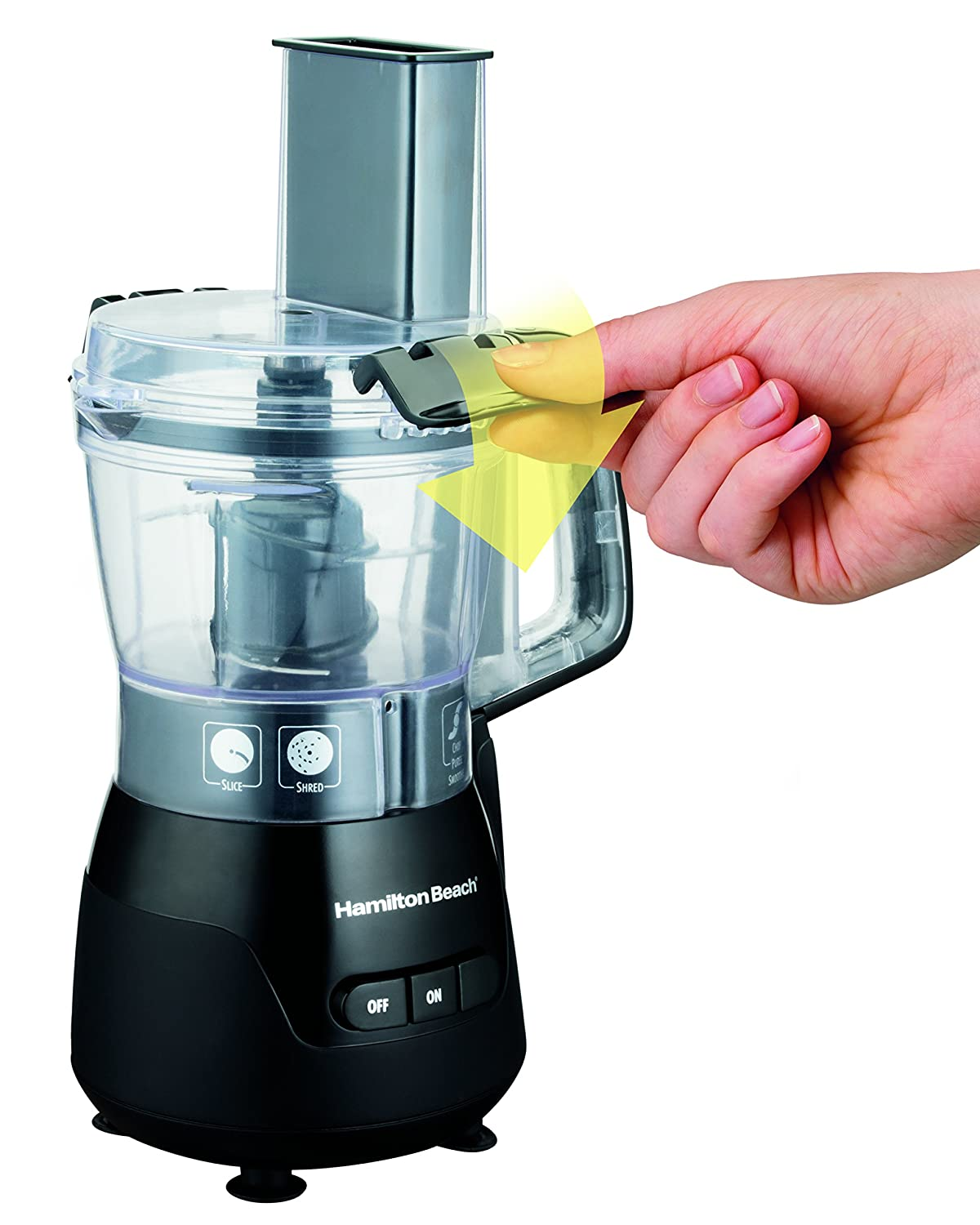 Amazon.com: Hamilton Beach (70510) Food Processor & Mini Chopper, 4 ...