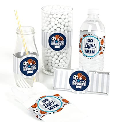 Amazon Com Go Fight Win Sports Diy Party Supplies Baby